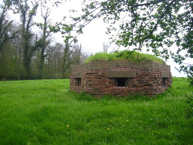 Pillbox outside Ampthill