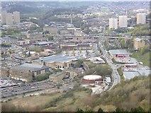 SE0925 : View of the North Bridge area, Halifax by Humphrey Bolton