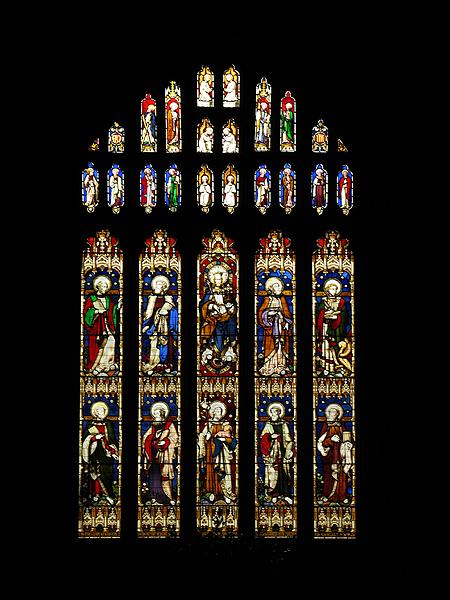 Stained Glass Window : Church at Bibury