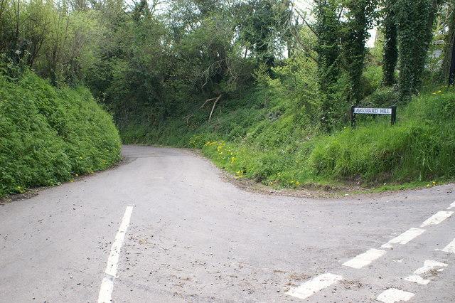 Awkward Hill in Nempnett Thrubwell
