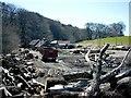 NJ3743 : Sawmill on Drummuir Estate. by Christopher Gillan