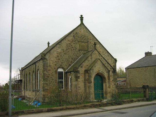 Primitive Methodist Chapel Grange Villa