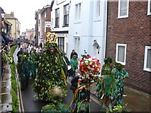 TQ8209 : May Day Hastings East Sussex by Janet Richardson