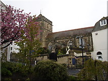 TQ8209 : St Clements Church  Hastings East Sussex by Janet Richardson