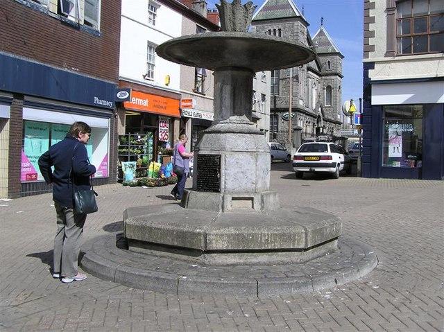 Water Fountain, Caernarfon