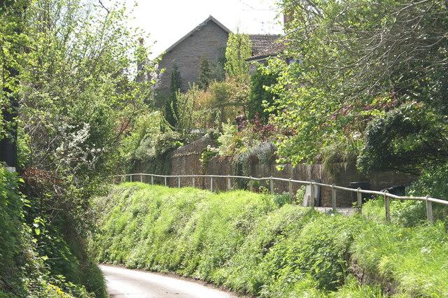 Lane in Upper Stanton Drew