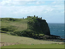 NG4074 : Duntulm Castle by Dave Fergusson