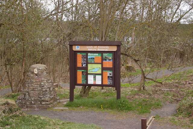 Entrance to Loch of Kinnordy Nature Reserve