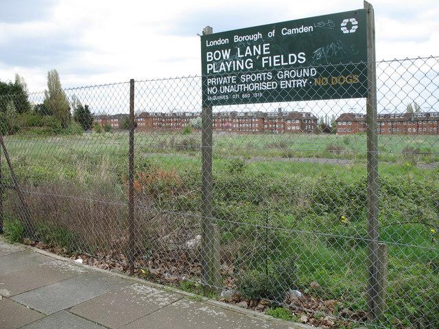 Bow Lane Playing Fields