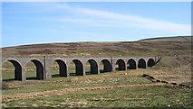 SD7992 : Dandrymire Viaduct by John Illingworth