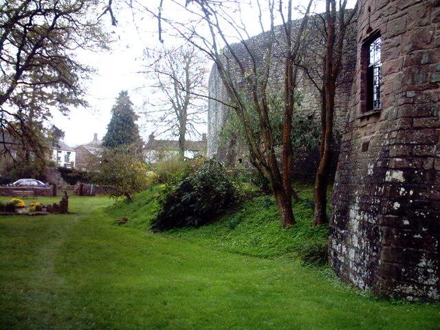 St. Briavels Castle Moat