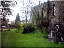 SO5504 : St. Briavels Castle Moat by chestertouristcom