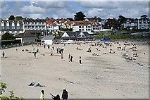 SW8031 : Gyllyngvase Beach by Tony Atkin