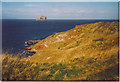 NT5885 : Coastline West of Canty Bay. by Colin Smith