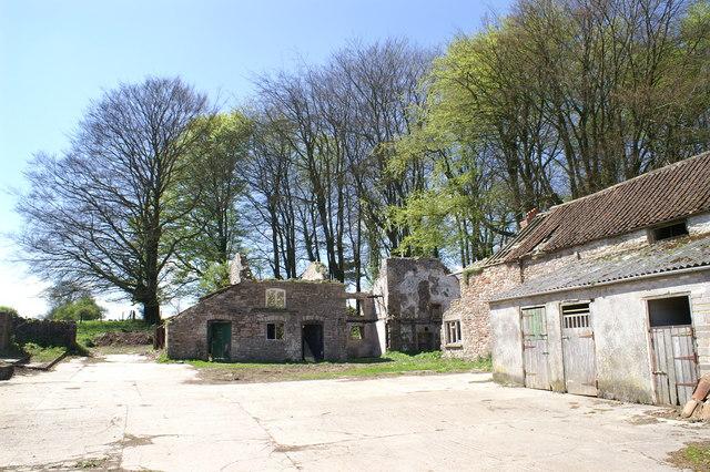 Dilapidated West End Farm