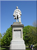 SJ3787 : William Rathbone's Statue, Sefton Park by Sue Adair
