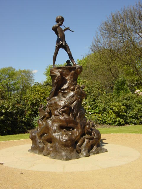 Peter Pan's Statue, Sefton Park