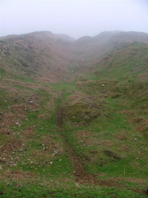 Remains of Whinstone Quarry, Stony Rigg