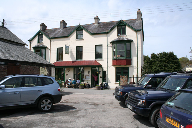 Parracombe: The Fox & Goose Inn
