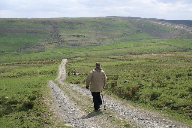 Track near Mynydd Dwyriw