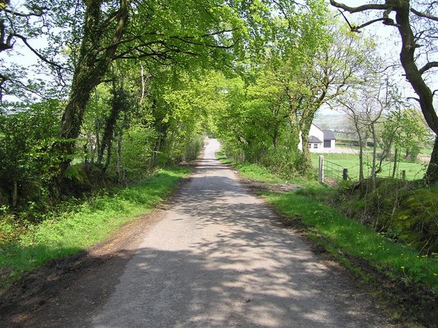 Road at Lurgacullion