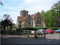 TQ4655 : St. Martin's Church, Brasted, Kent by Dr Neil Clifton