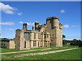 NZ0878 : Belsay Castle by Brian Norman