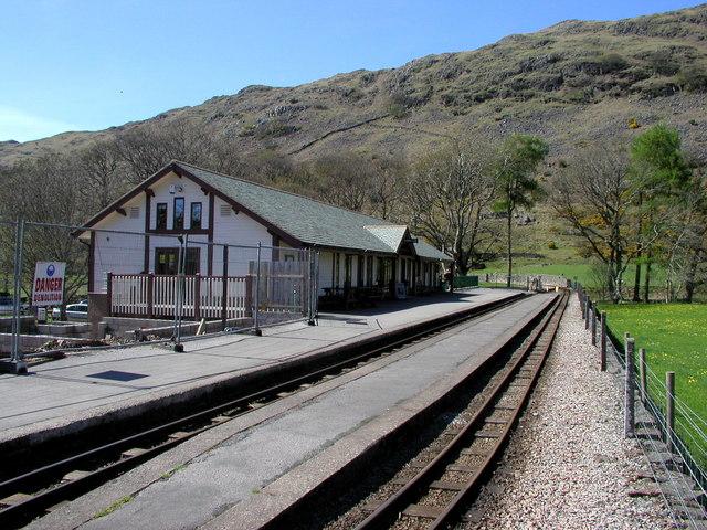 The new Dalegarth Station