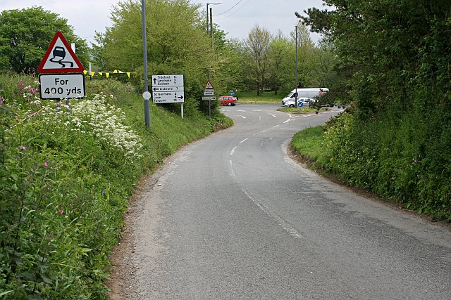 A Country Lane Meets the Traffic