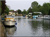 TG2608 : River Yare at Thorpe by Graham Hardy
