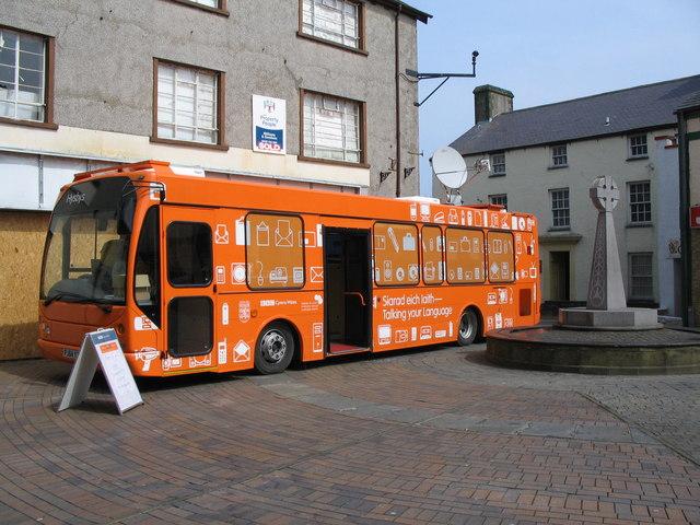 BBC Wales mobile studio