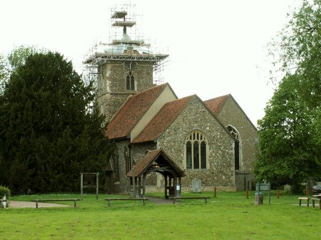 St. Peter's church, Roydon, Essex