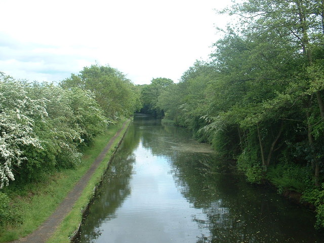 The Grand Union Canal, Solihull