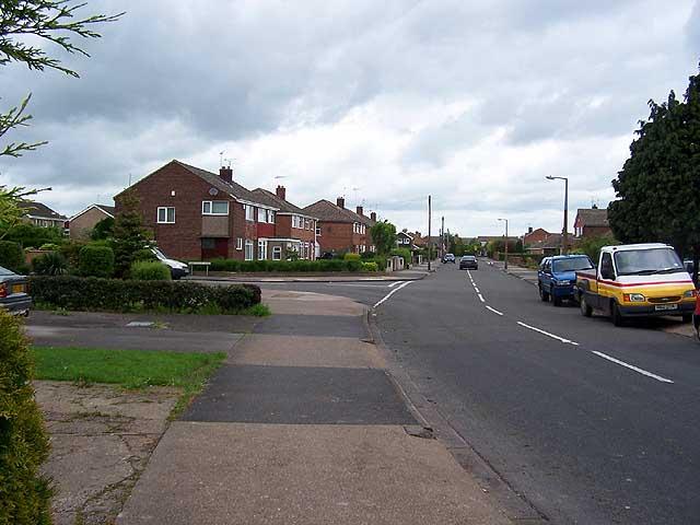 Ruskin Avenue/Ribblesdale Road junction