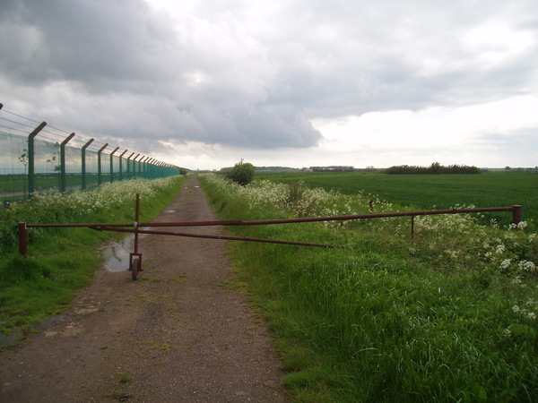 Path around the airfield