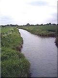 TQ9293 : Land drain - Paglesham by John Myers