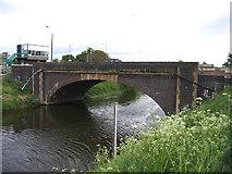 TF2643 : Bridge over the South Forty Foot Drain, Hubbert's Bridge, Lincs by Rodney Burton
