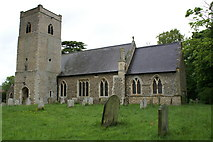 TM0099 : Church of St Peter, Little Ellingham by Peter Standing