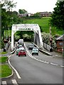 SJ6076 : A49 crossing the River Weaver just south of Bartington by Andrew Loughran