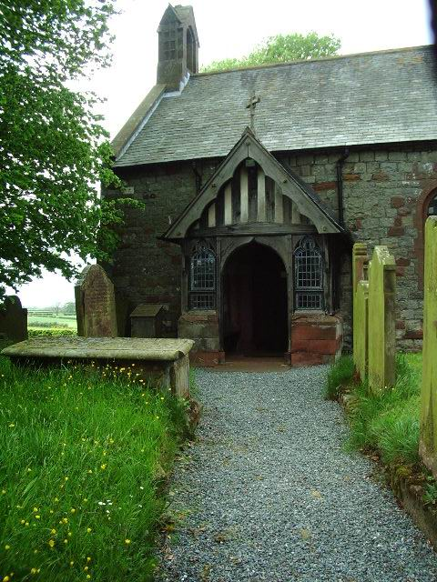 Porch, St Marys Church, Beaumont