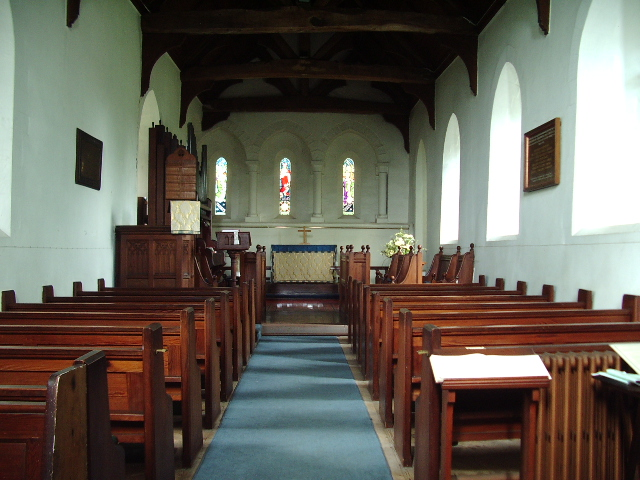 Interior of St Marys Church, Beaumont