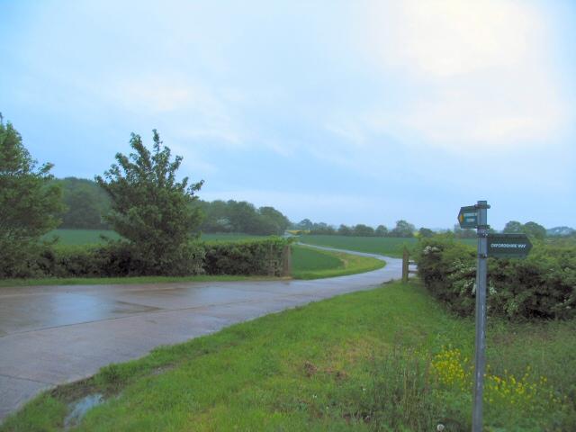 Towards Oddington Grange