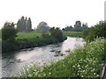 TL1845 : The River Ivel at Biggleswade, Beds by Rodney Burton