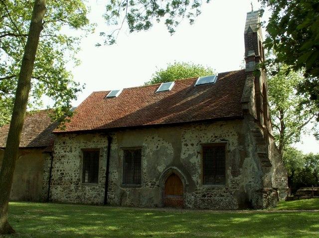 All Saints church, Tolleshunt Knights, Essex