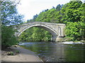 NY6761 : Featherstone Bridge, River South Tyne by Brian Norman
