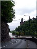 ST5673 : Looking down Bridge Valley Road by Linda Bailey