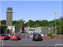 H4573 : Army Barracks, Omagh by Kenneth  Allen