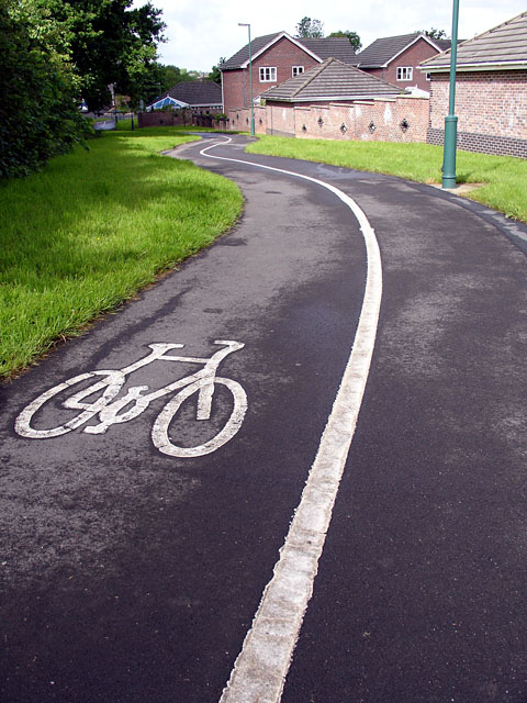Cycle Path in Vinny Green
