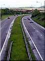 ST6777 : Ring Road A4174 looking north-west by Linda Bailey