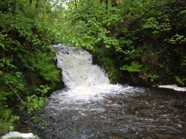 Waterfall, Ramsden Clough